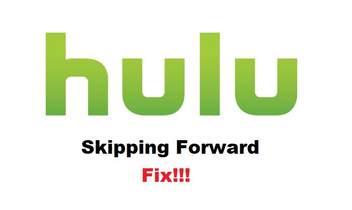 hulu skipping forward