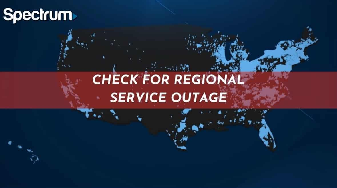 Check For Regional Service Outage