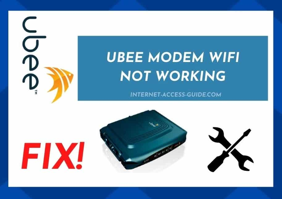 Ubee Modem WiFi Not Working