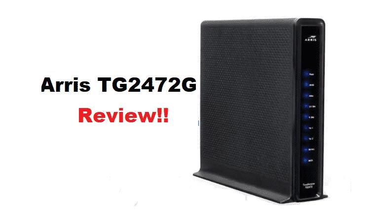 arris tg2472 review