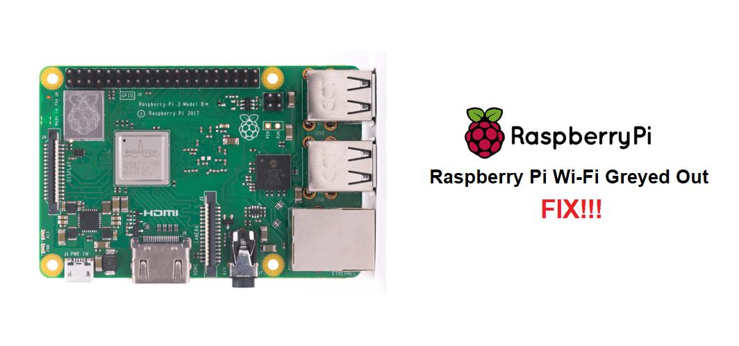 raspberry pi wifi greyed out