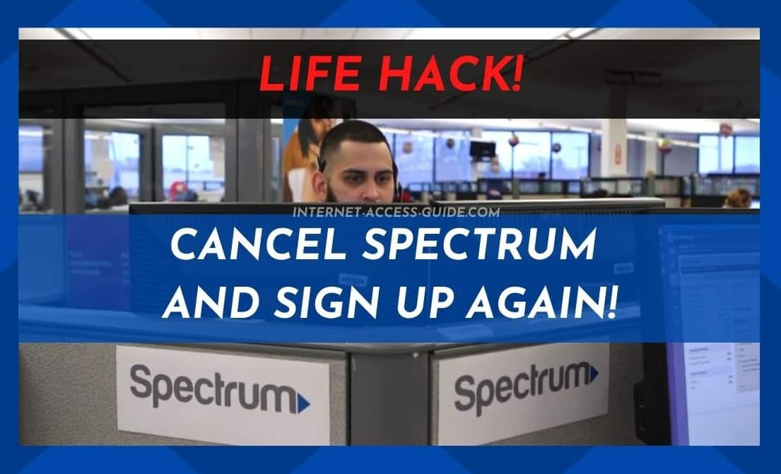 Cancel Spectrum And Sign Up Again