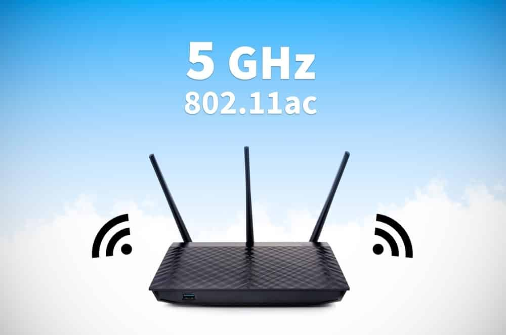 change to the 5ghz band