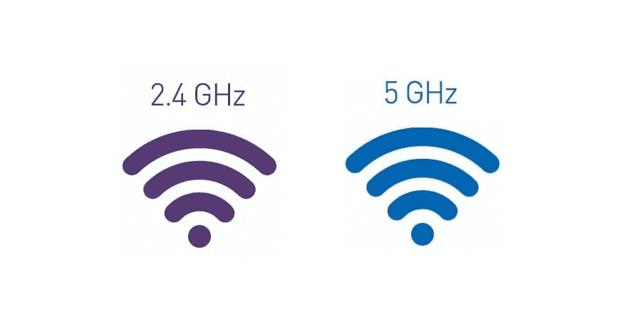how to tell if connected to 2.4 or 5ghz wifi