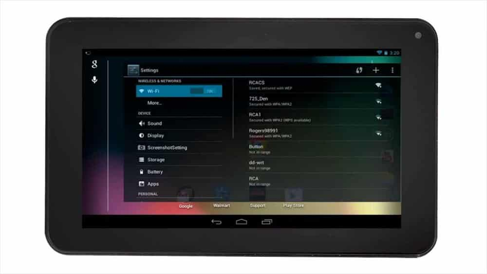rca tablet keeps disconnecting from wifi