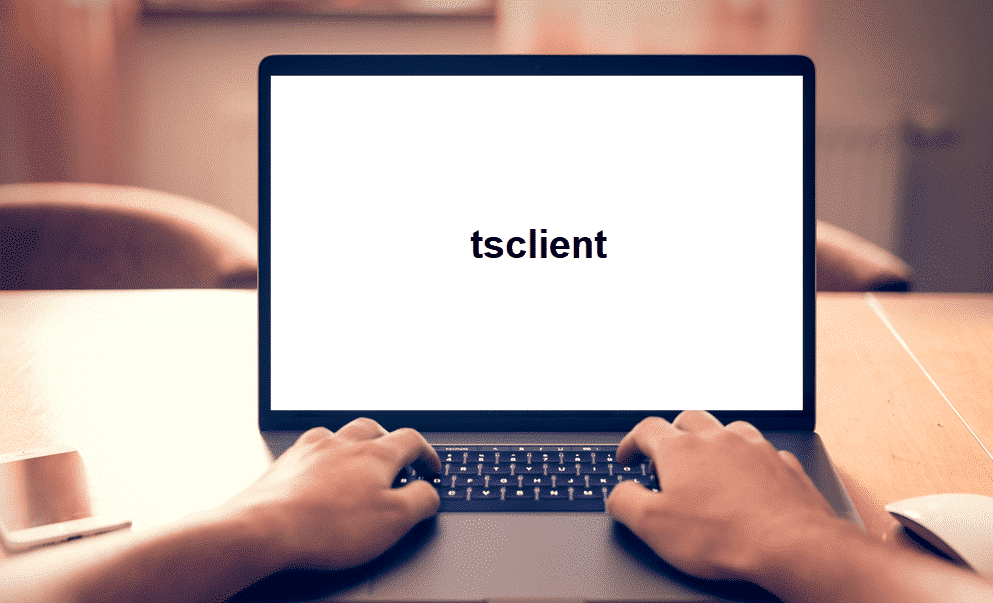 what is tsclient on my network