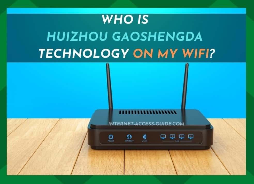 Huizhou Gaoshengda Technology On My WiFi