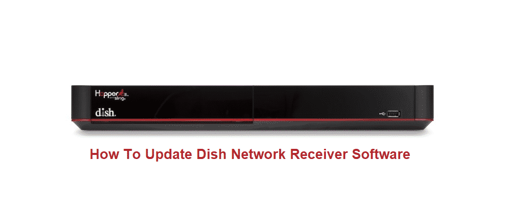 how to update dish network receiver software