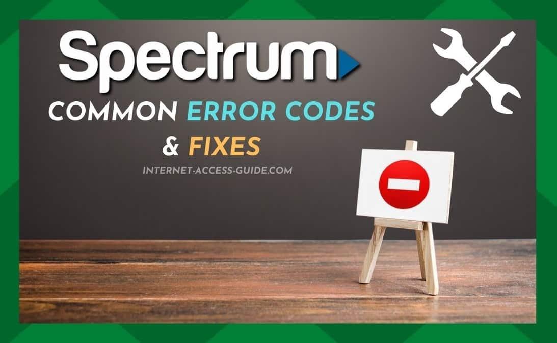 Spectrum App Error Codes