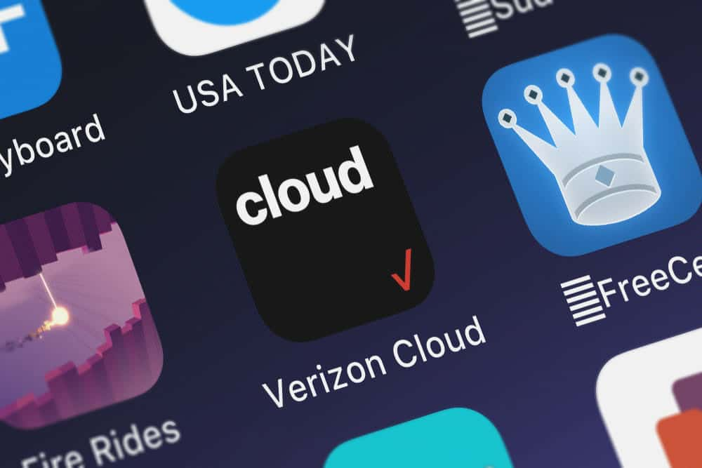 how do i delete items from verizon cloud