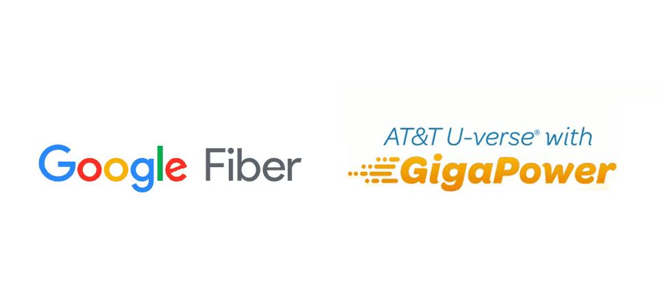 google fiber vs at&t gigapower
