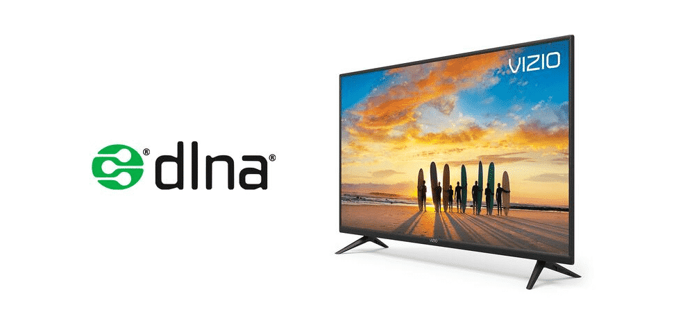 how to setup dlna on vizio smart tv