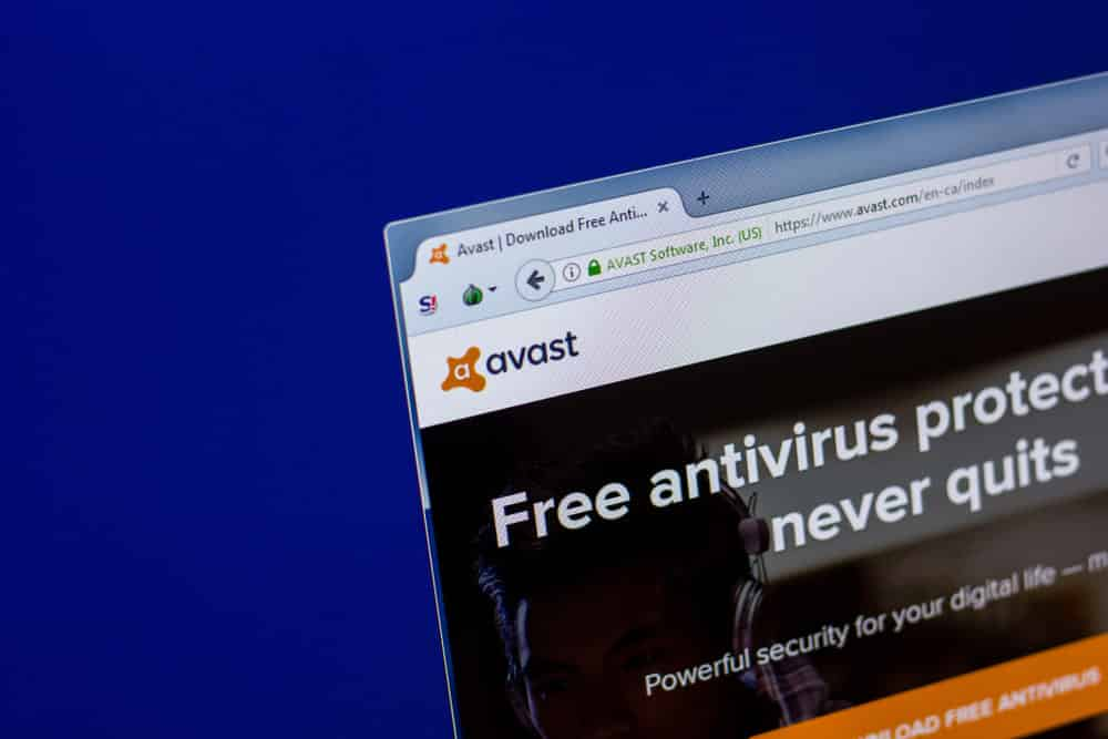 avast firewall is blocking my internet connection