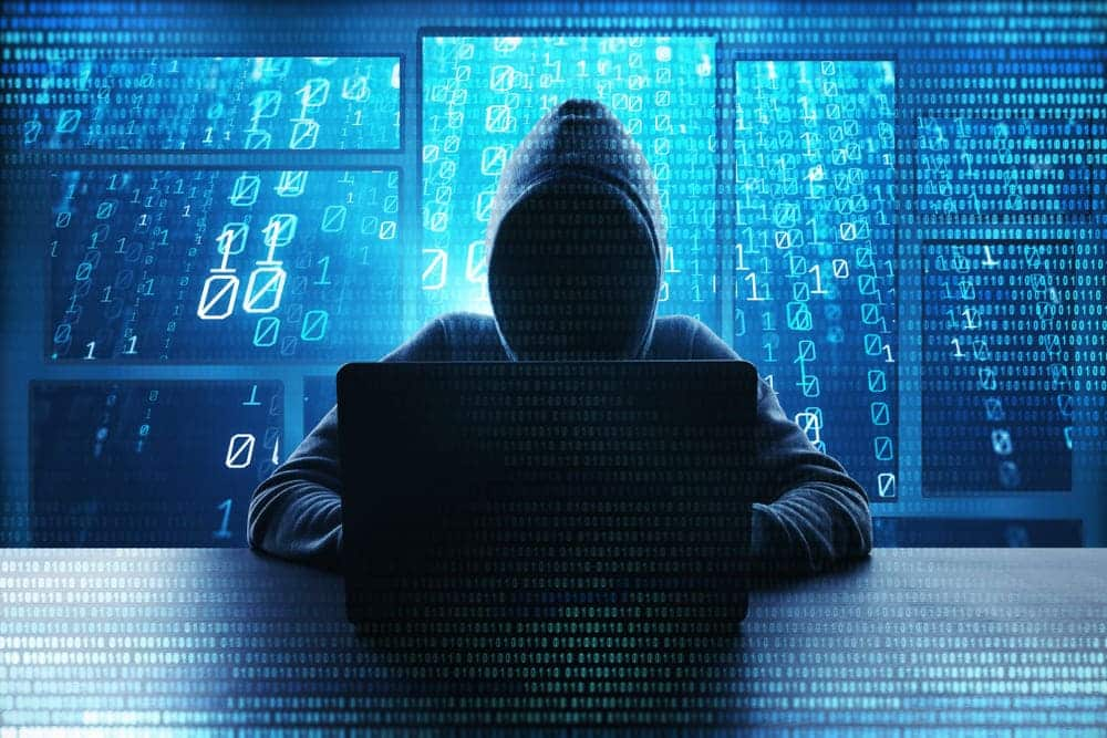 hacker is tracking you message