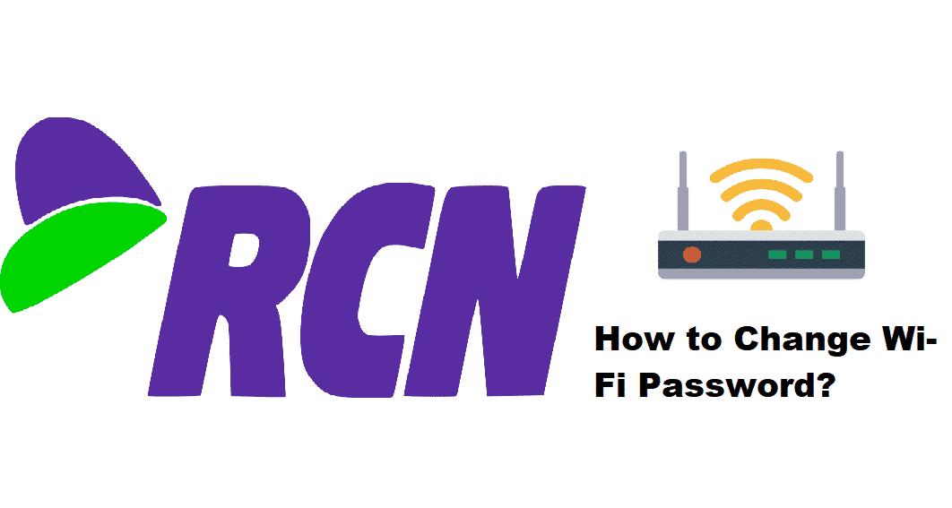 how to change rcn wifi password